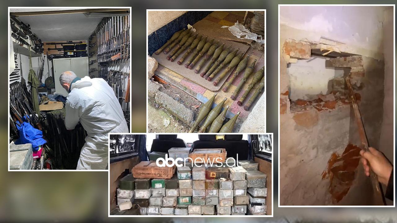 """Operacioni """"Kompleks""""/ Policia jep detaje: U goditën 2 baza të tjera arsenal armësh"""