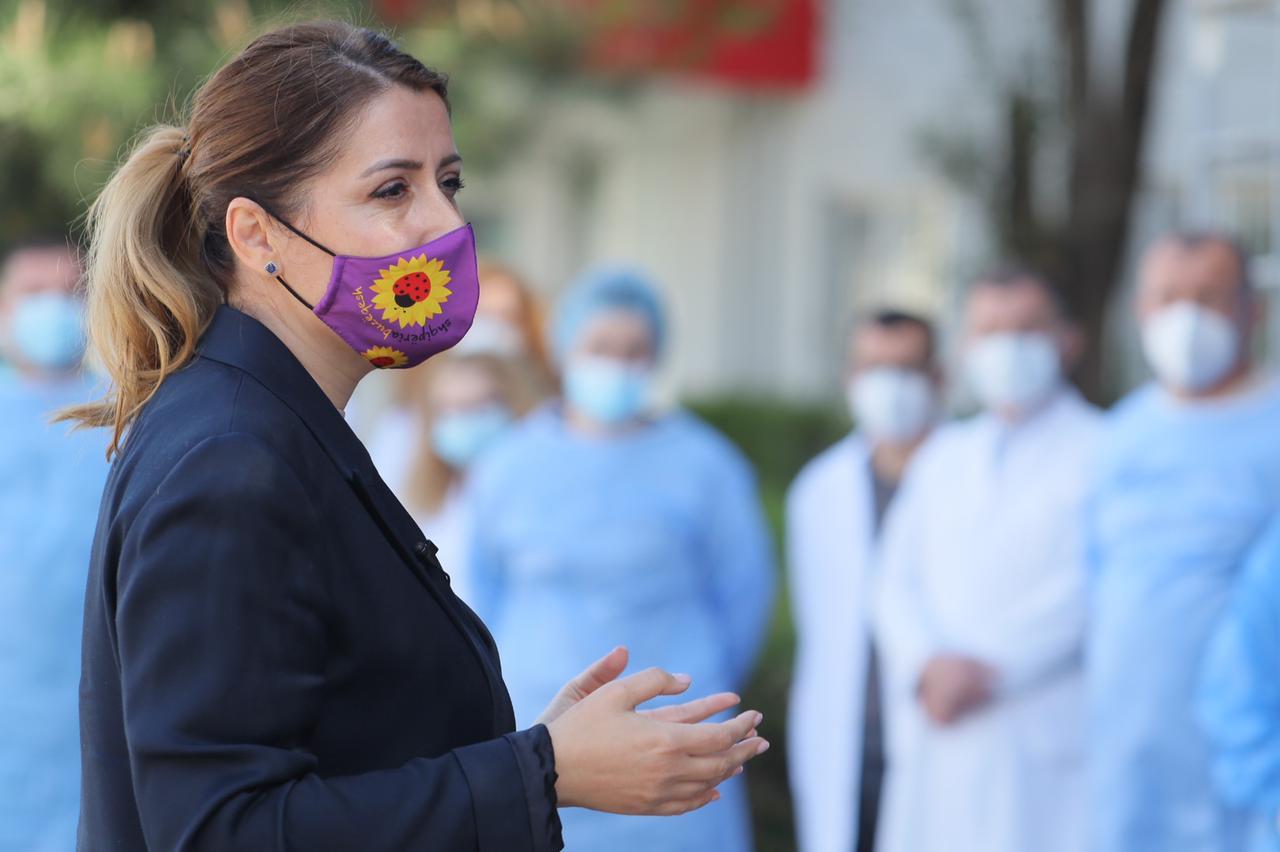 Zbrazet spitali COVID-4, Manastirliu: Rastet kanë rënë, por lufta nuk ka mbaruar