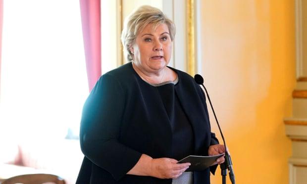 Kryeministrja e Norvegjisë gjobitet për shkelje të  rregullave anti-Covid