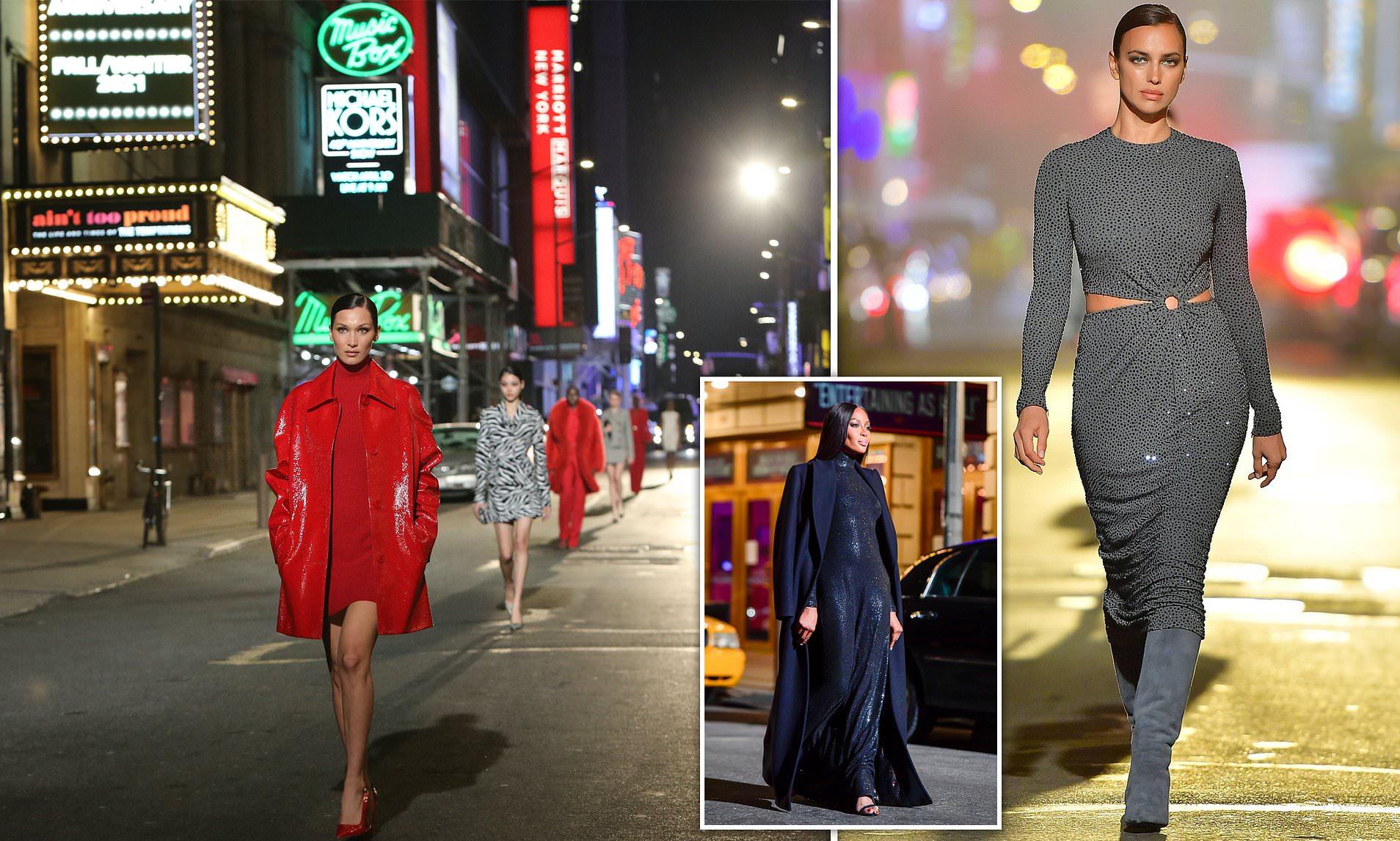 Michael Kors zbret modelet në rrugët e Nju Jorkut, për të prezantuar koleksionin e ri