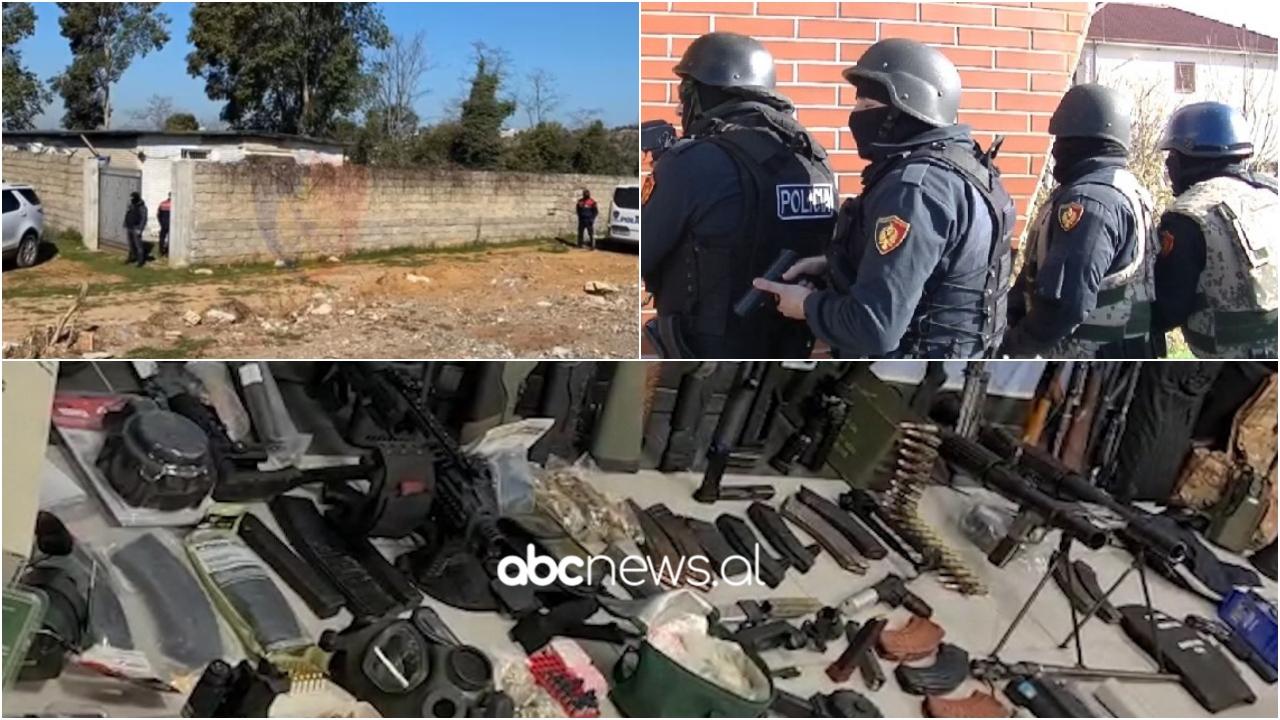 Municion luftarak të izoluar në mur, zbulohet tjetër depo armësh në Tiranë në pronësi të Sokol Xhurës
