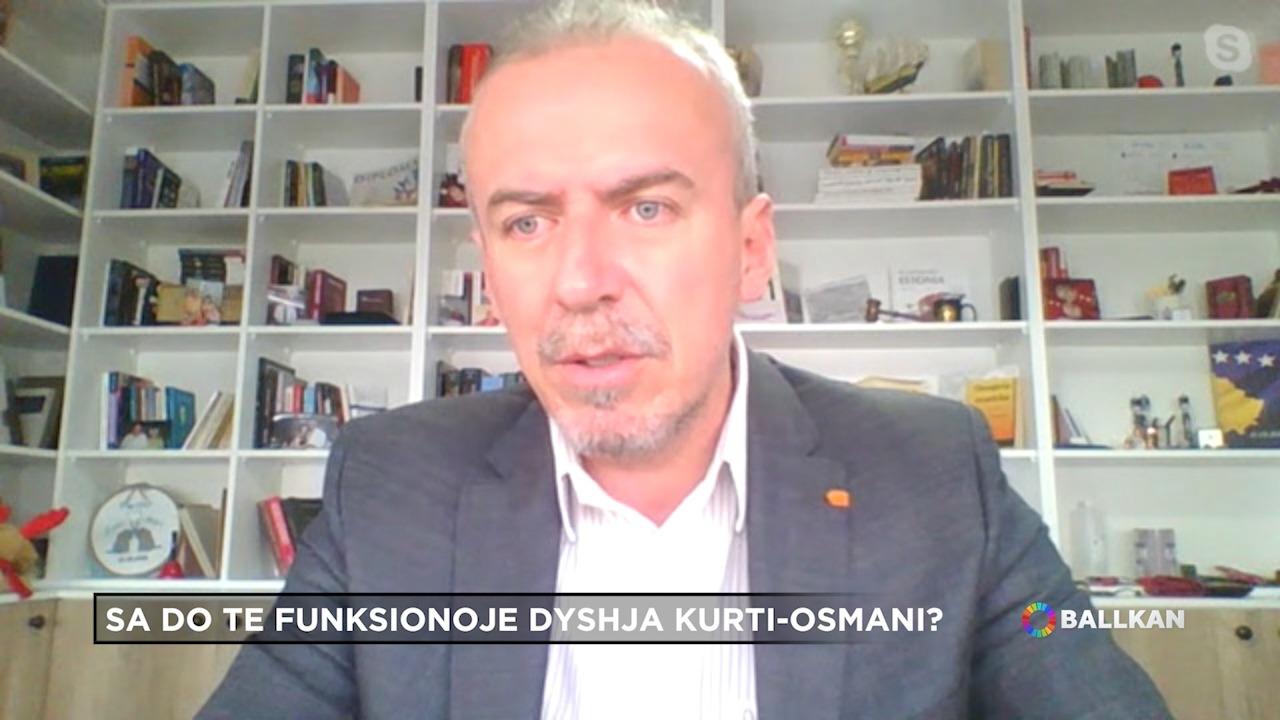 """Çfarë i premtoi Vjosa, LDK-së? Eksperti në """"Ballkan"""": Sa do të zgjasë dyshja Kurti-Osmani?"""