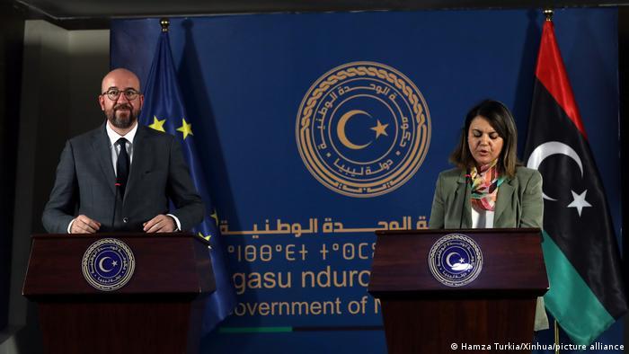 Lufta civile dhe koronavirusi, presidenti i Këshillit Europian viziton Libinë