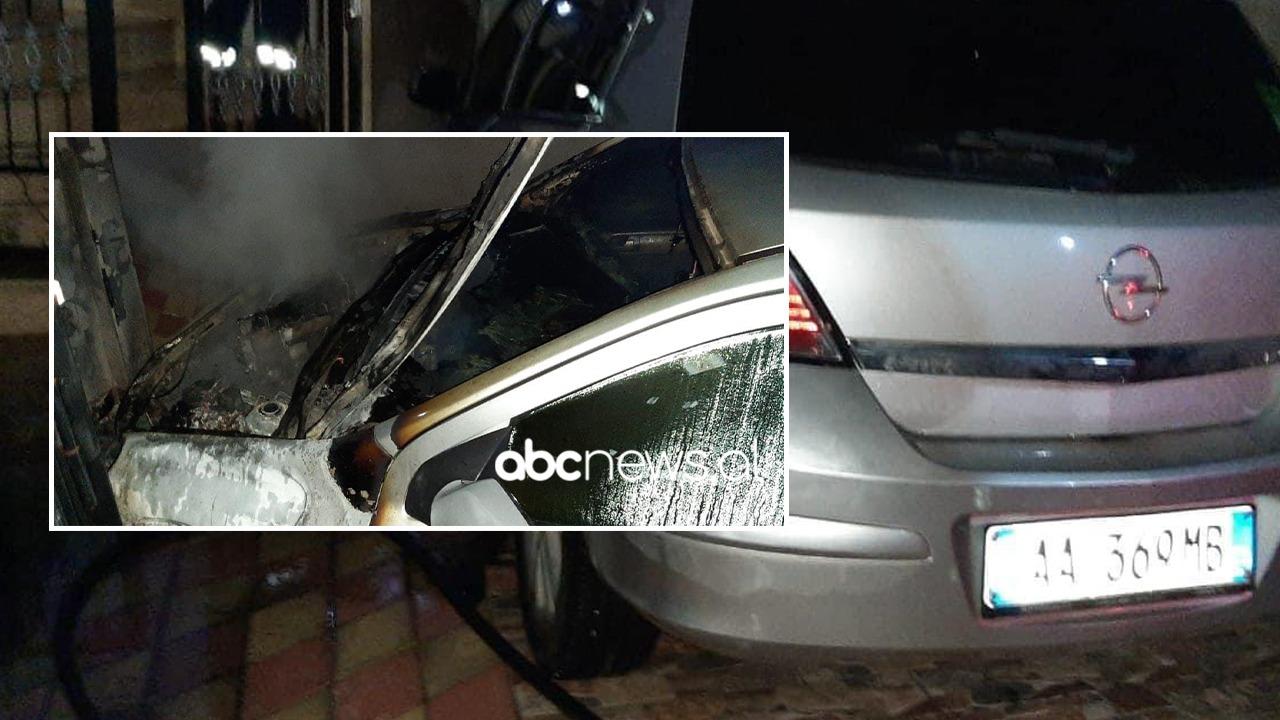 Digjet në mesnatë një automjet në Vlorë, policia nis hetimet