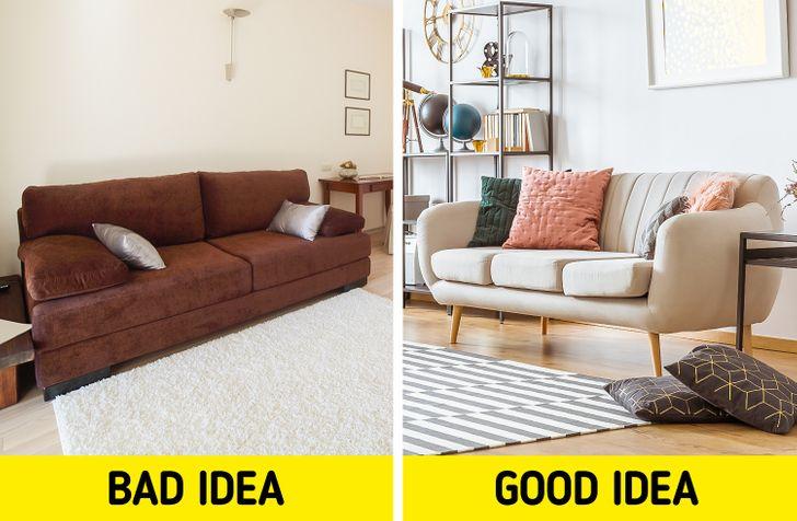 Jetoni në një apartament të vogël? Mos i bëni kurrë këto gabime në dizajn