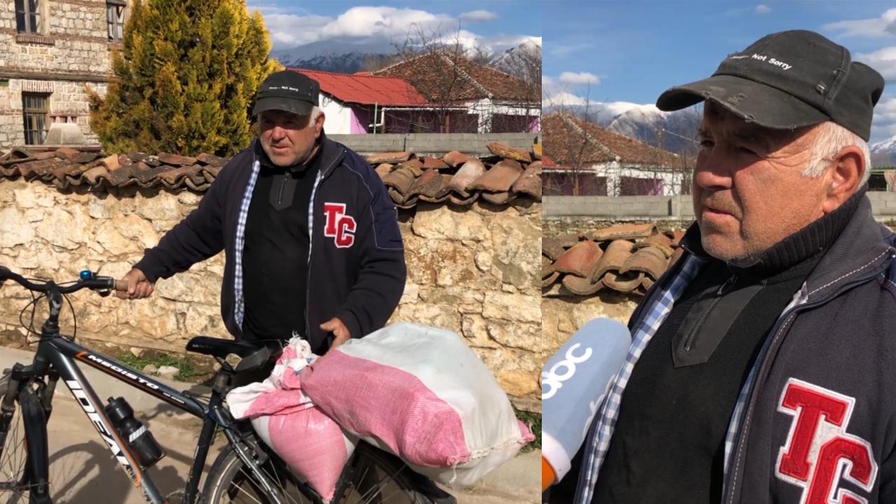 Banorët e Sovjanit në Maliq prej 10 vitesh pa ujë, e sigurojnë me bidonë në fshatin fqinj