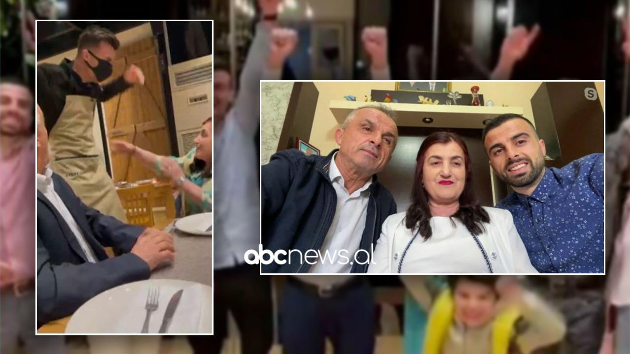 Surprizoi pas 3 vitesh prindërit si kamarier, familja e emigrantit shqiptar ndan emocionet e momentit special