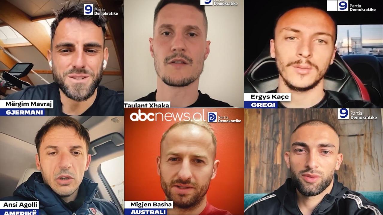 """""""Votoni ndryshimin"""", futbollistët e Kombëtares mbështesin Lulzim Bashën"""
