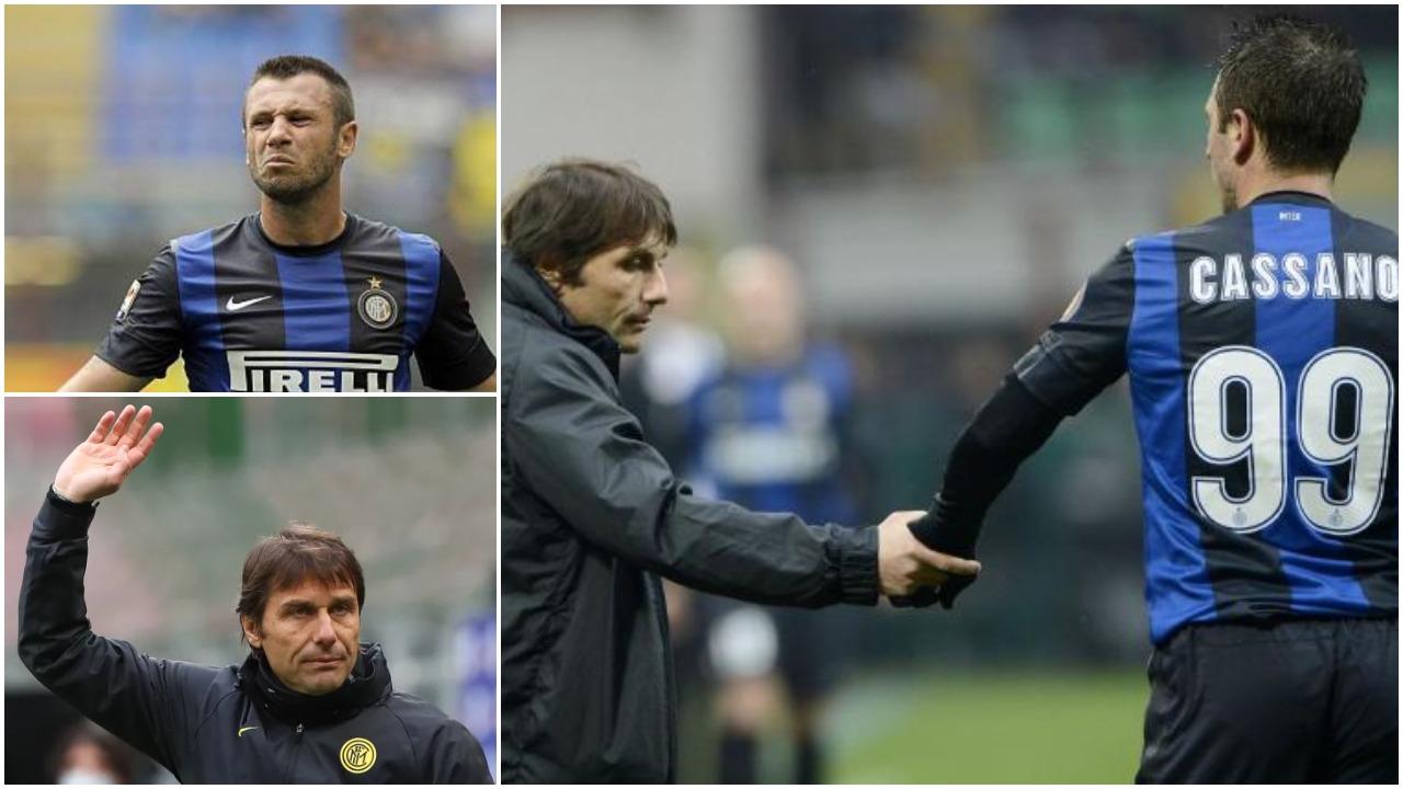 Cassano: Conte ta shpif me atë futboll, unë do kërkoja ta shkarkonin direkt