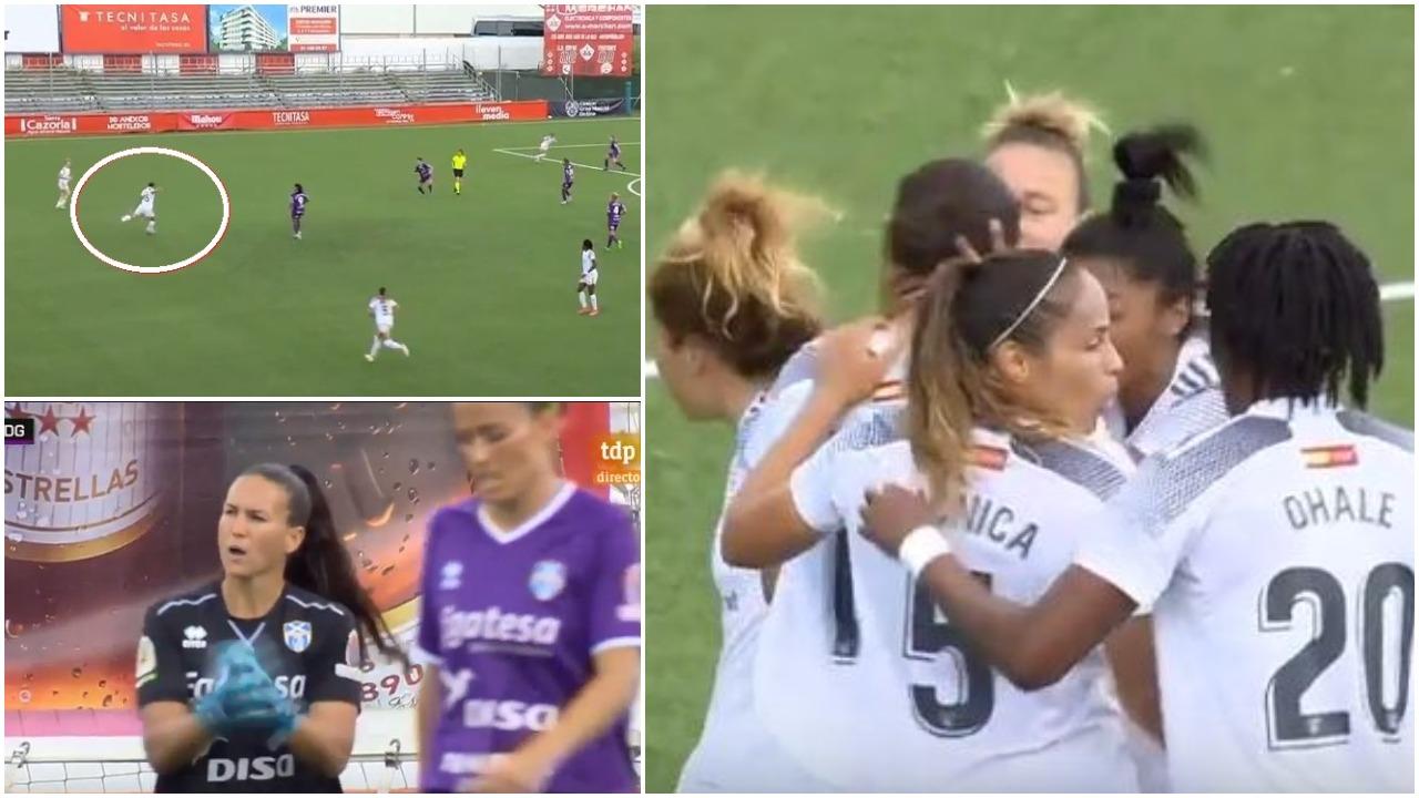 VIDEO/ Eurogol në futbollin e femrave, amerikania merr duartrokitjet e portieres