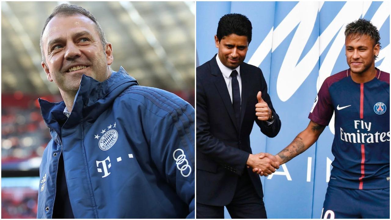 E ardhmja e Neymar dhe Flick, Al-Khelaifi dhe Matthaus zbulojnë gjithçka