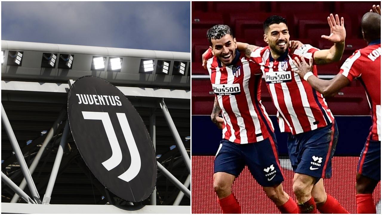 Tre lojtarë argjentinas në lojë, lëvizje në akset Torino-Paris-Madrid