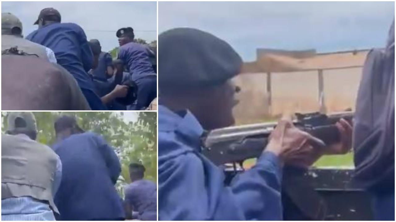 VIDEO/ Plumba mbi tifozët e tërbuar, ekipi mik me kamion drejt aeroportit