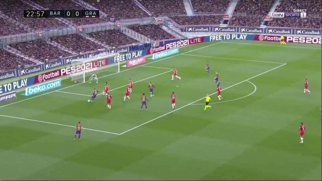 """VIDEO/ Messi e Griezmann """"vallëzojnë"""" në fushë, Barcelona në avantazh"""