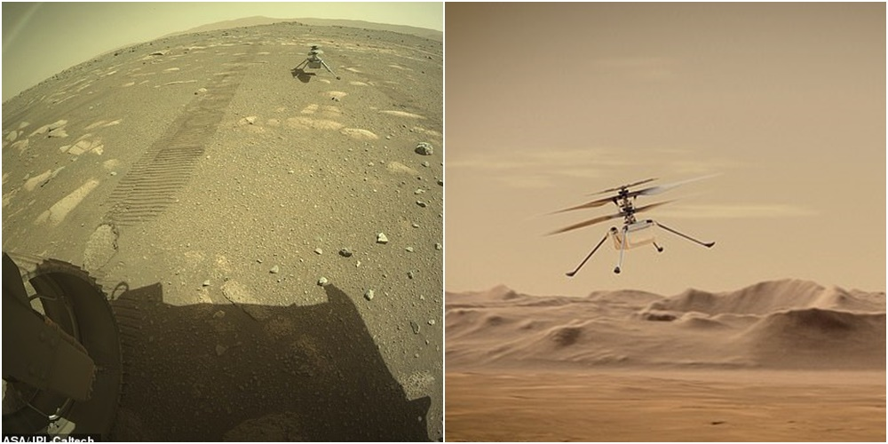 Fluturimi i parë në një botë tjetër, NASA ngre në Mars dronin 85 milionë dollarësh