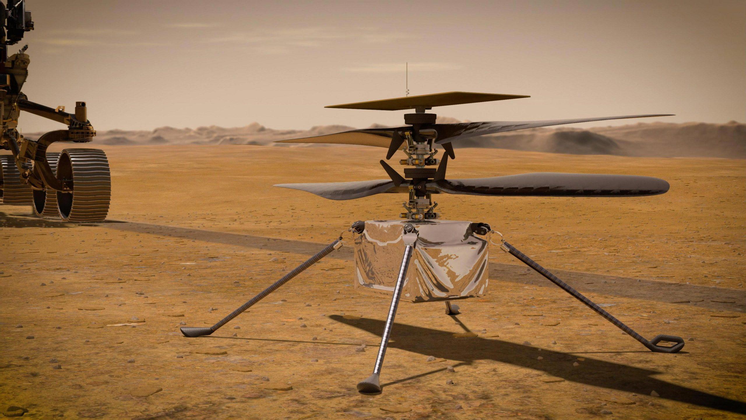 Sot NASA do të testojë fluturimin e parë të helikopterit në Mars