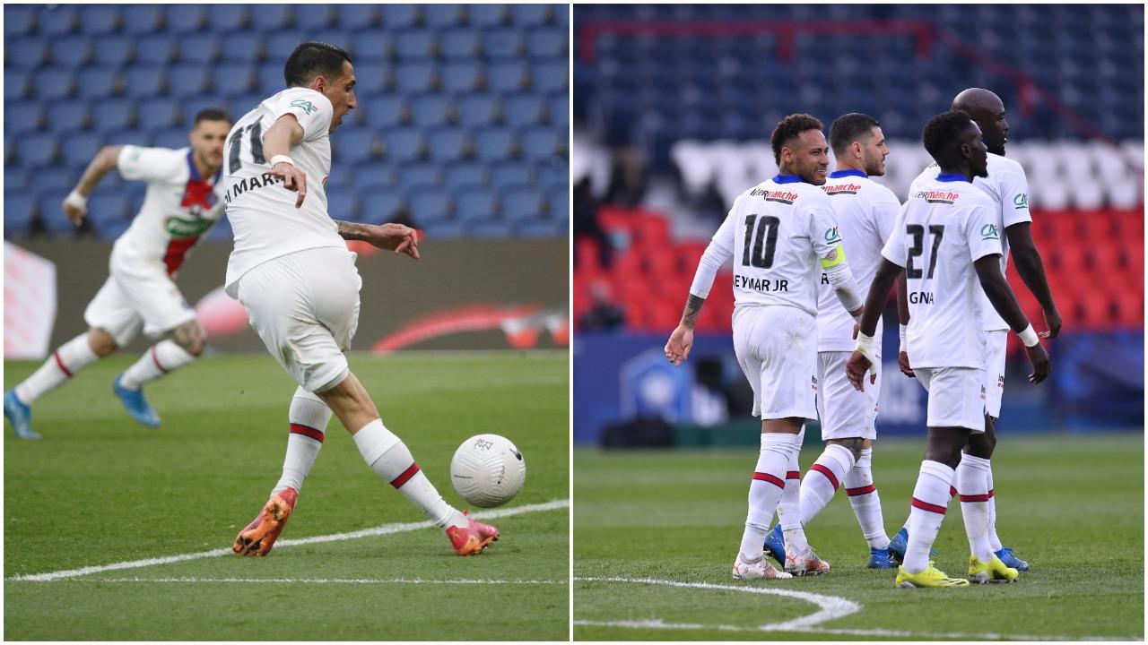 """VIDEO/ Super Icardi, PSG në gjysmëfinale të Kupës. Di Maria dhuron """"show"""""""