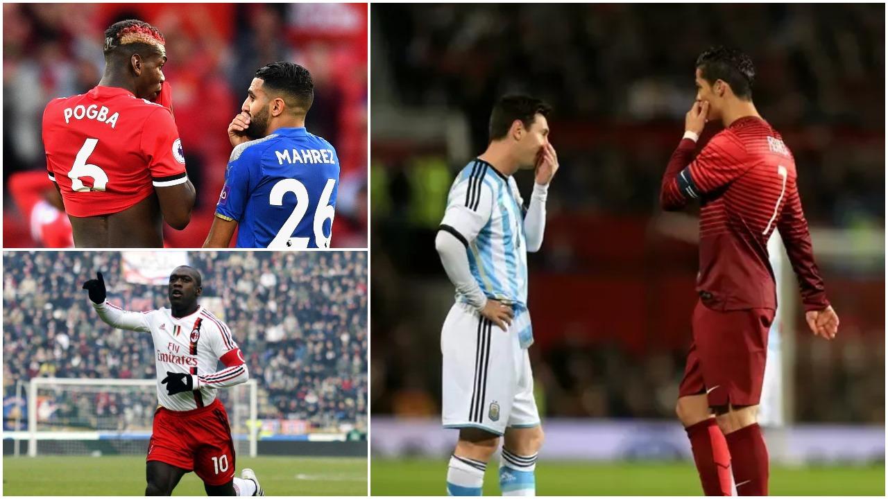 Racizmi, Seedorf: Të ndëshkohen lojtarët që flasin me dorën mbi gojë