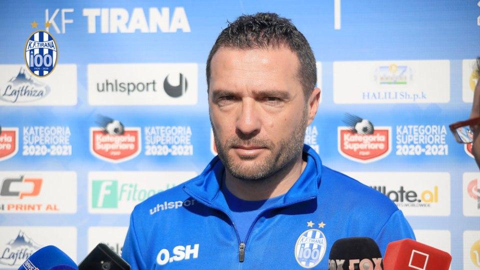 Zyrtare: Tirana rinovon me trajnerin, Orges Shehi edhe një sezon bardheblu