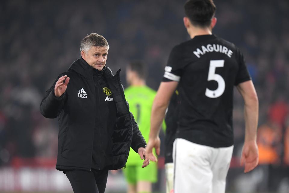 """""""Leeds ekip unik, na mungoi goli"""", Solskjaer e Maguire analizojnë barazimin"""