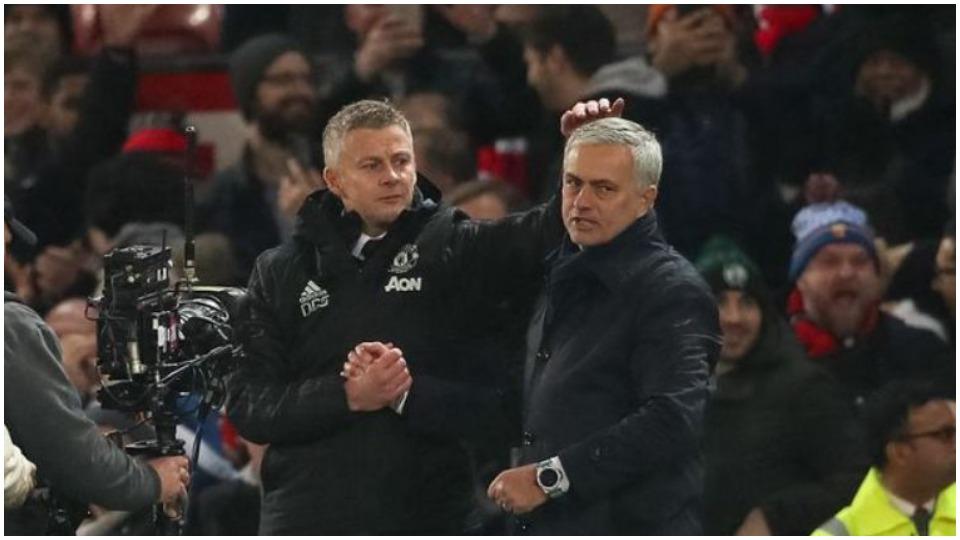 """""""Nuk mund të mburresh me vendin e dytë tek United"""", Solskjaer ironizon Mourinhon"""