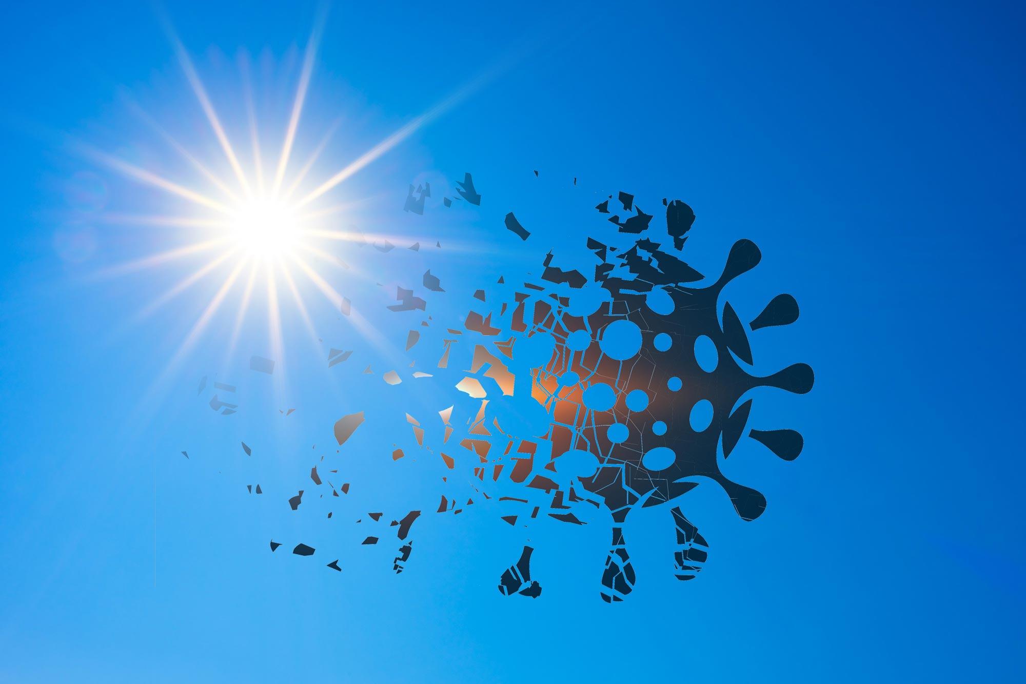 Studimi: Rrezet e diellit ndihmojnë në uljen e vdekshmërisë nga Covid, dhe jo për shkak të vitaminës D