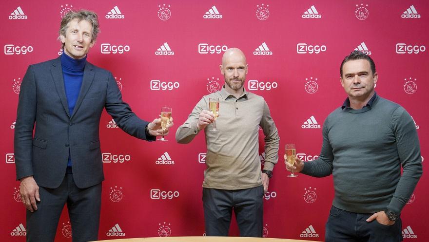 "Zyrtare: Aventura si ""harkëtar"" vazhdon, Ajax rinovon me Erik ten Hag"
