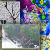 Surprizon moti gjatë javës, reshje shiu dhe bore në  disa zona