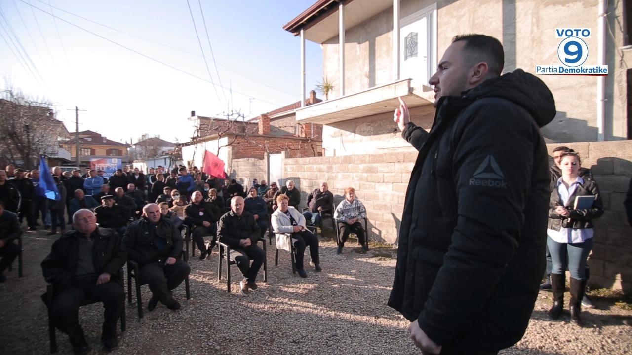 Salianji në Korçë: Ndryshimi s'ka më kthim, 25 prilli është dita e shqiptarëve