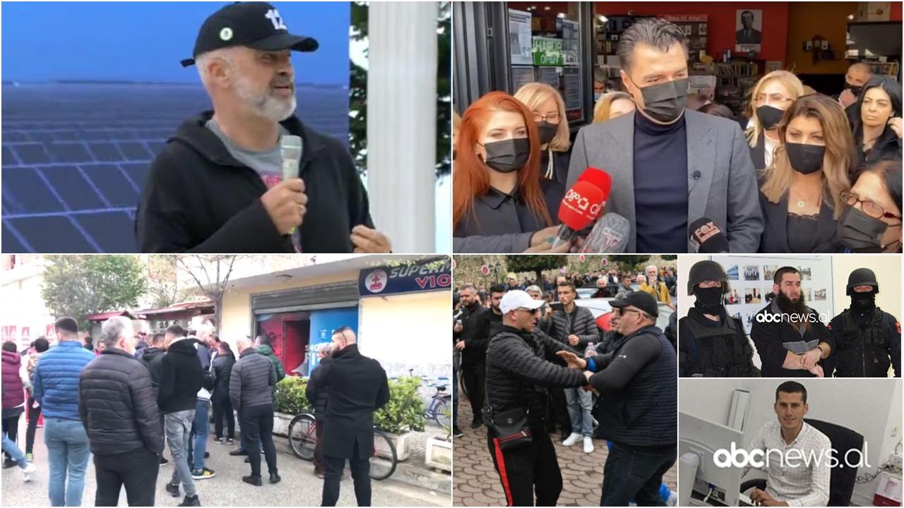 Nga Elbasani te plagosja në Kavajë, përplasjet e forta për zgjedhjet e 25 prillit