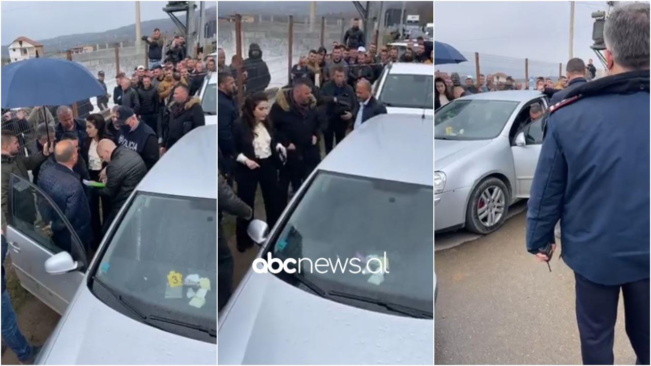 """""""Topa me 50-çe"""", gjenden para në makinën e bllokuar nga demokratët në Dibër"""