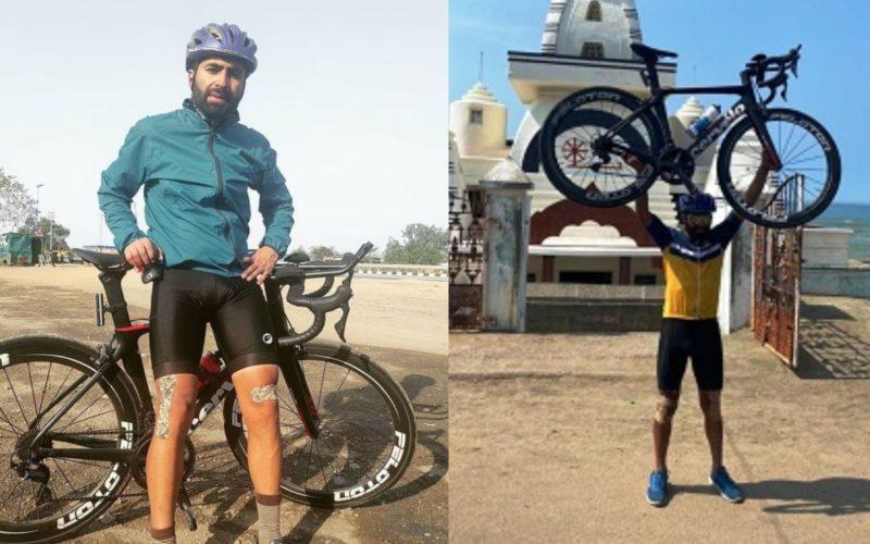 VIDEO/ Çiklisti thyen rekord, udhëton nga maja veriore deri në fund të Indisë në 8 ditë