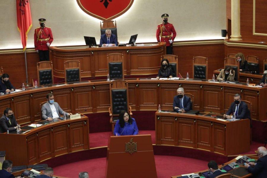 Vjosa Osmani presidente e Kosovës, Rama: Qoftë një punë e mbarë për popullin
