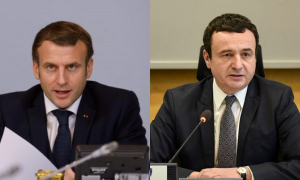 Macron letër Kurtit: Shpresoj që të vazhdoni dialogun me Serbinë, të mirëpres së shpejti në Paris