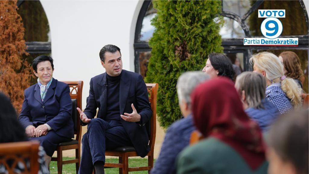 Basha në Përrenjas: Fuqizojmë familjen duke fuqizuar gruan shqiptare