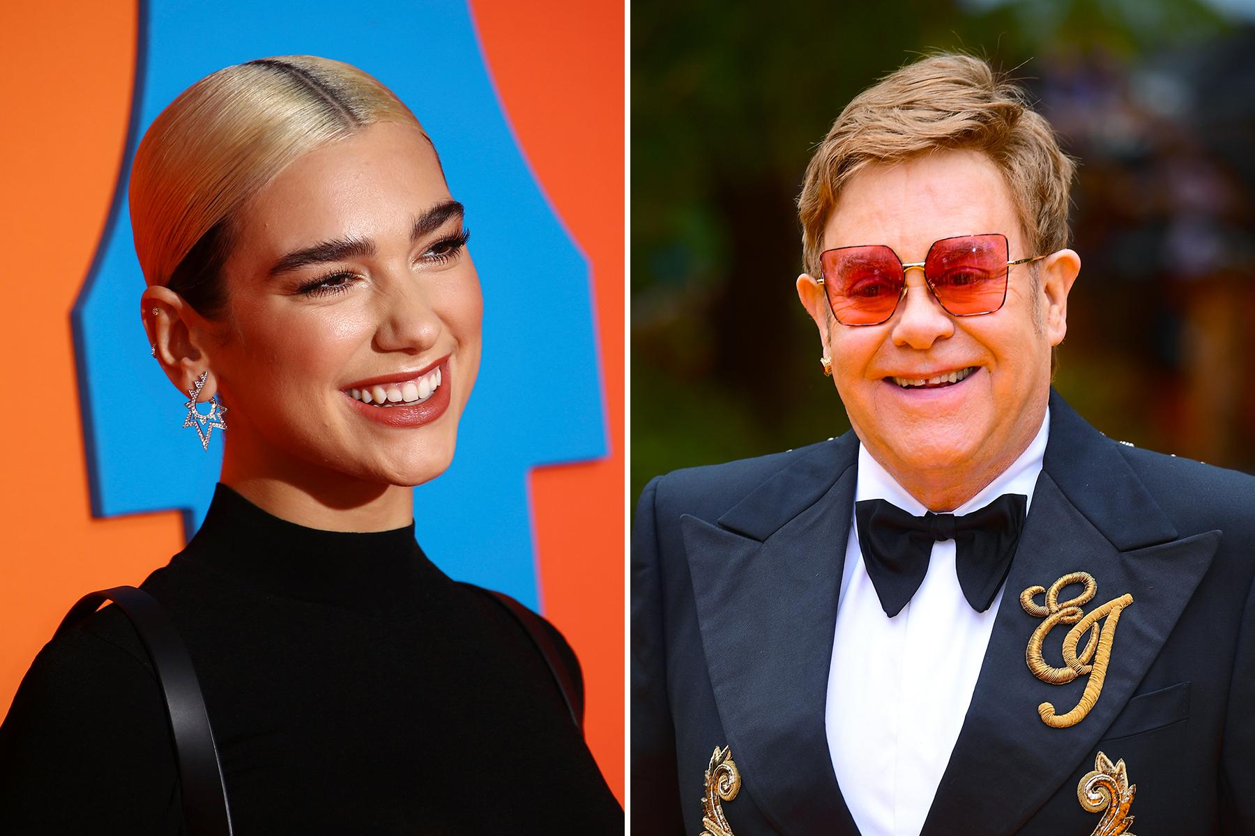Dua Lipa takohet me Elton John dhe bën gjestin e veçantë