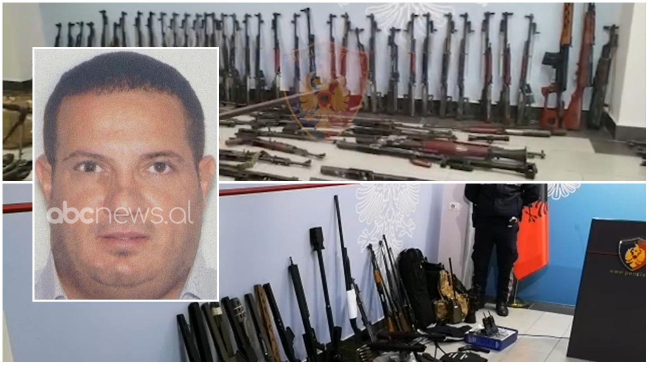 """Murin të mbushur plot me armë, ky është Sokol Xhura, brenda biznesit kishte """"magazinë"""" lufte"""