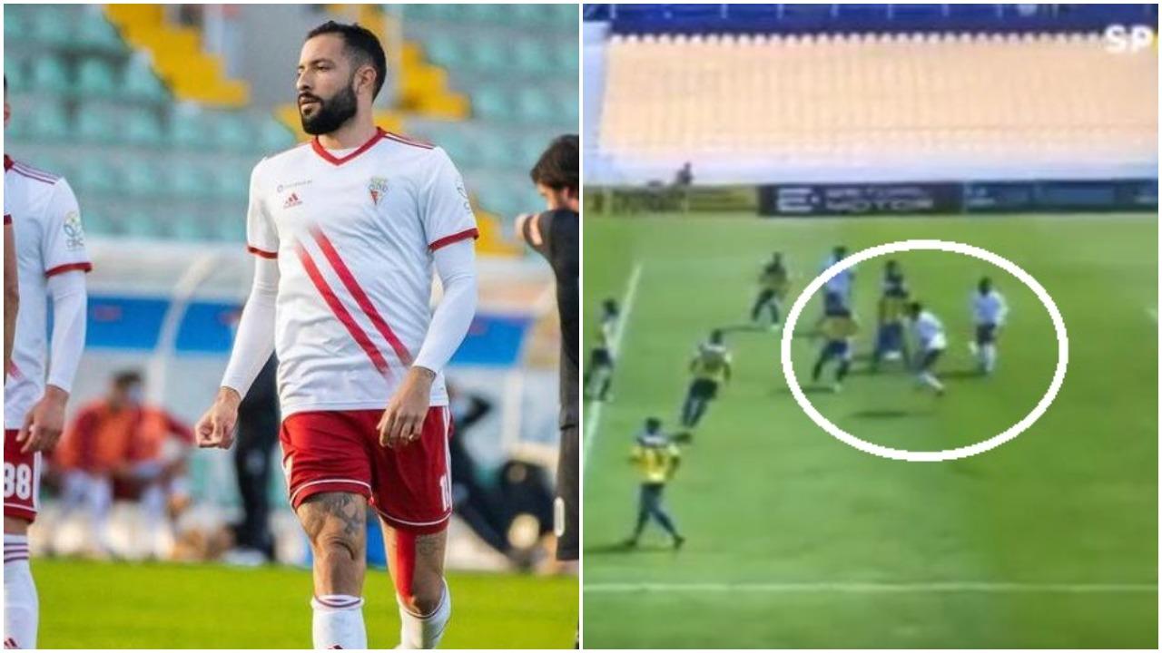 """VIDEO/ Eurogol me finte, sulmuesi brazilian dhuron """"show"""" në Portugali"""