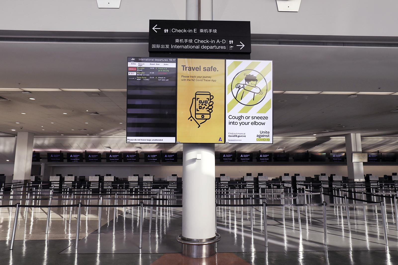 Një punonjës aeroporti në Zelandën e Re rezulton pozitiv me Covid pas vaksinimit