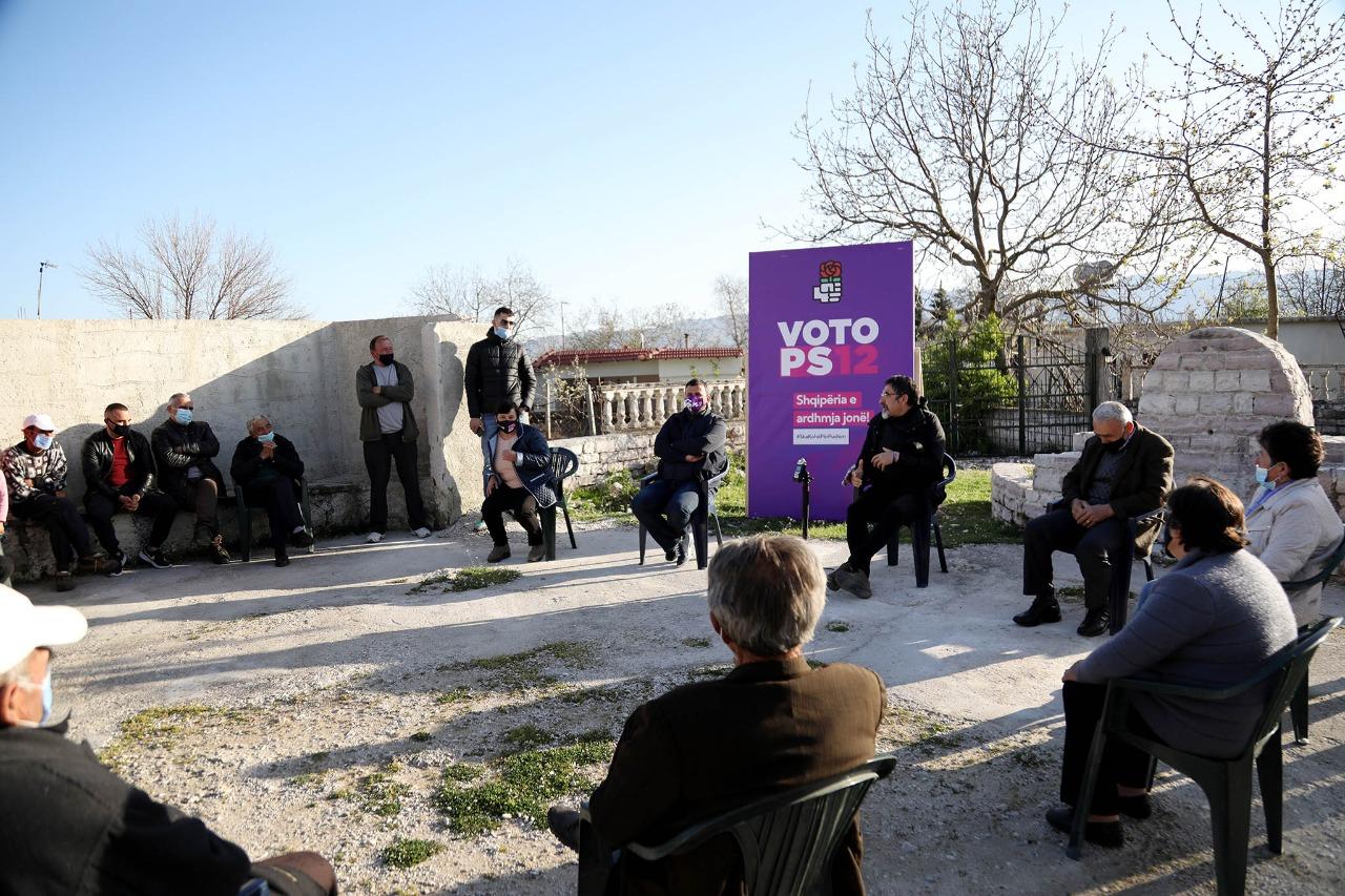 Çuçi në Lunxhëri: Nuk mbaj mend një vepër qe kanë bërë qeveritë e kaluara për Gjirokastrën