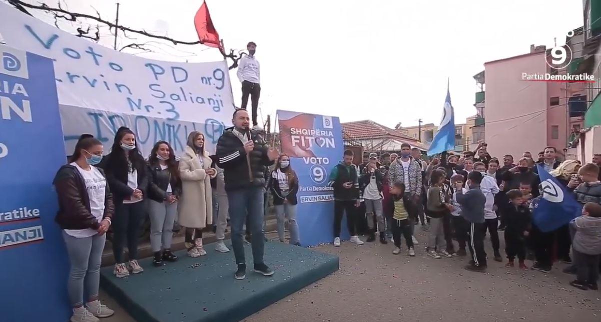 Ervin Salianji: Më pak se 2 javë dhe Shqipëria Fiton!