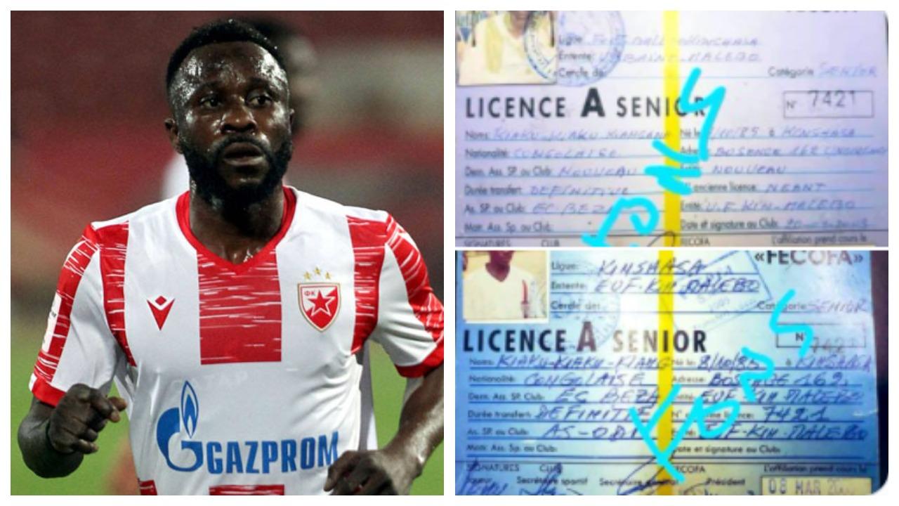 Ishte në fushë ndaj Tiranës, lojtari i Crvena Zvezda mashtron kombëtaren e Gabonit