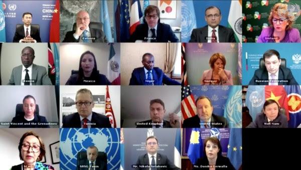 Flamuri i Kosovës acaron përfaqësuesin e Rusisë në OKB, ndërpritet mbledhja e Këshillit të Sigurimit