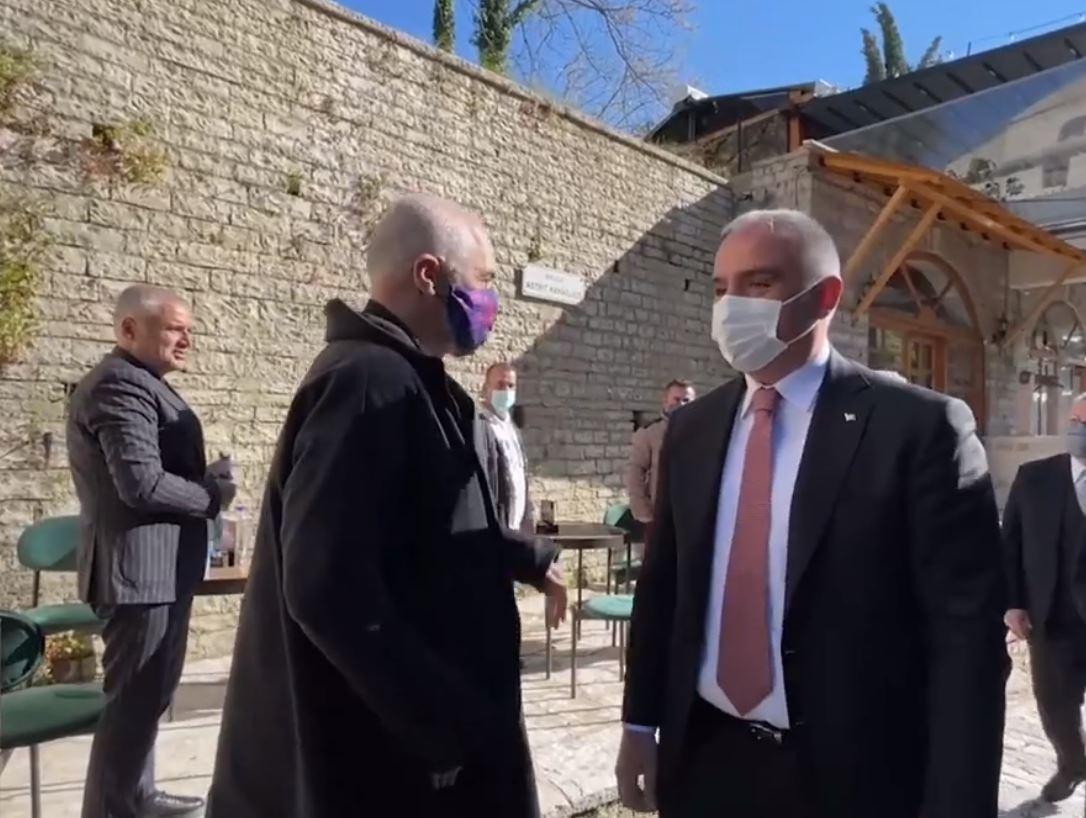 Rama pret në Gjirokastër ministrin turk: Prioritet bashkëpunimi në fushën e turizmit