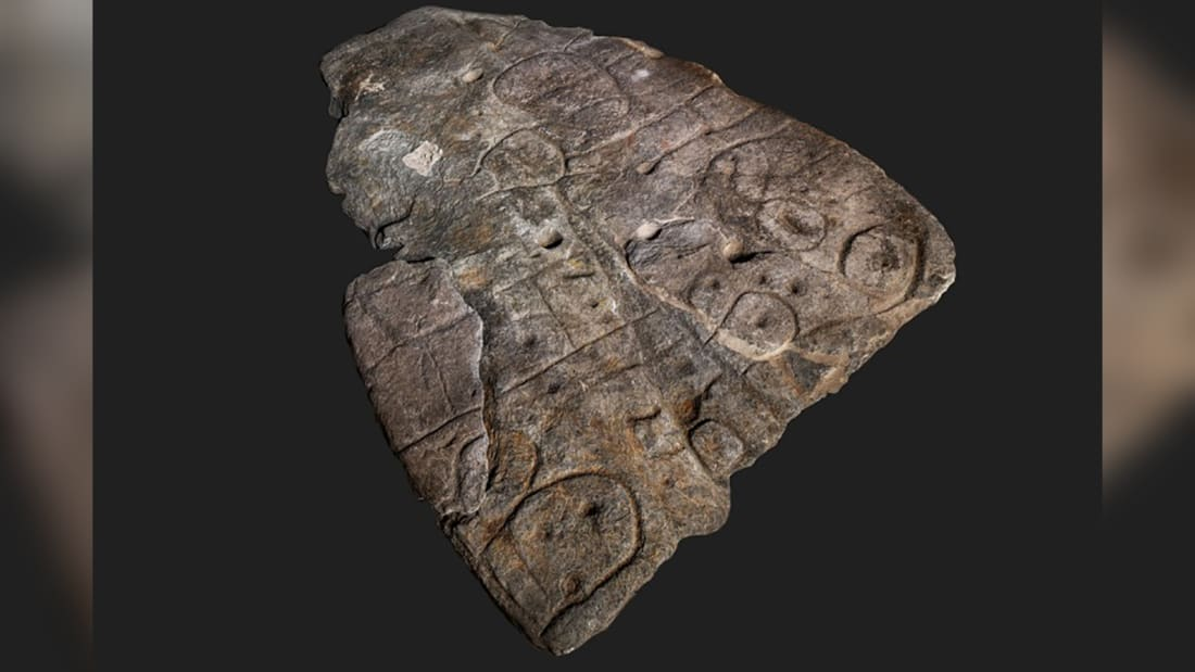 Gjendet guri i veçantë i gdhendur në epokën e bronzit, është harta më e vjetër e Evropës