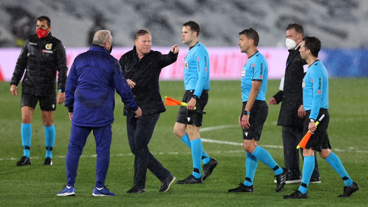 """""""Përse nuk ka VAR në Spanjë? Ishte penallti e qartë"""", Koeman i tërbuar pas ndeshjes"""