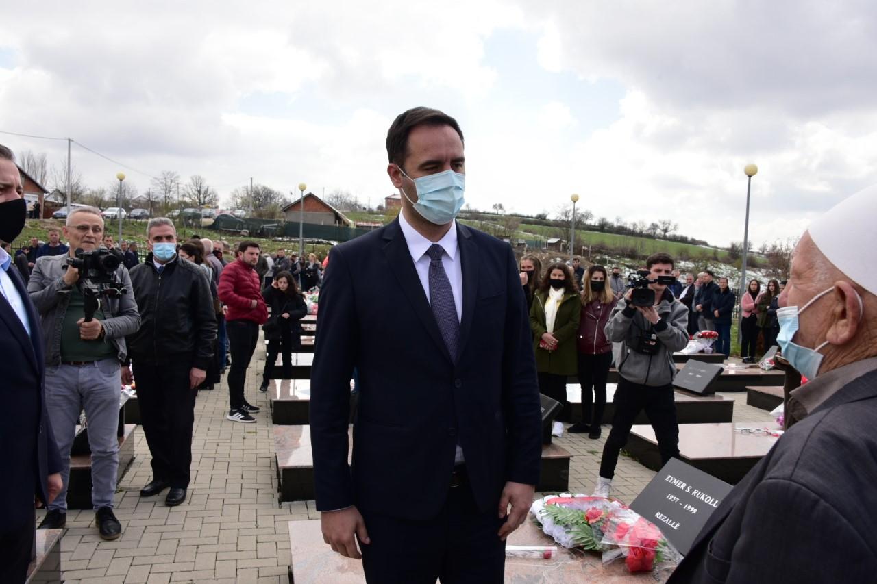 Konjufca: Nuk do të ketë stabilitet në rajon pa i pranuar Serbia krimet e kryera në Kosovë