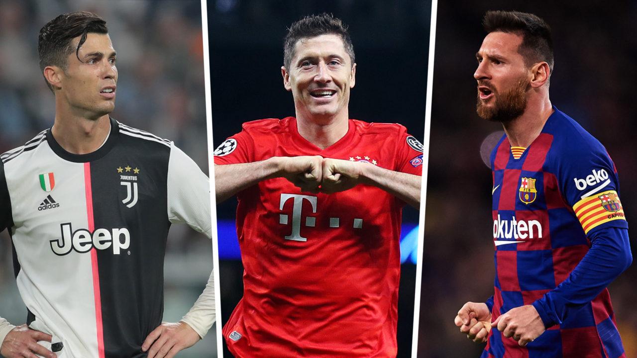 SHIFRAT: Lewandowski e Messi kategori tjetër, Ronaldo as në podium