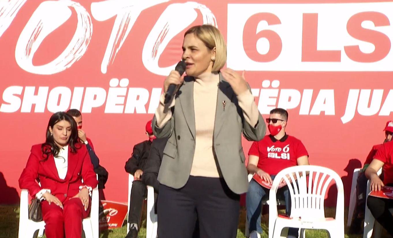 Monika Kryemadhi: Rama po kërcënon dhe seleksionon shqiptarët, duhet ta largojmë