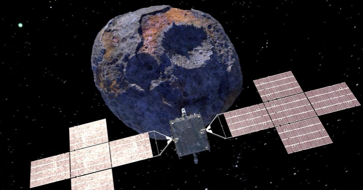 Brenda laboratorit ku NASA po ndërton anijen kozmike që do të eksplorojë asteroidin me vlerë 10 kuintilion dollarë